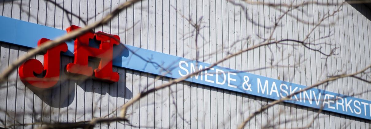 JH Smede & Maskinværksted facade